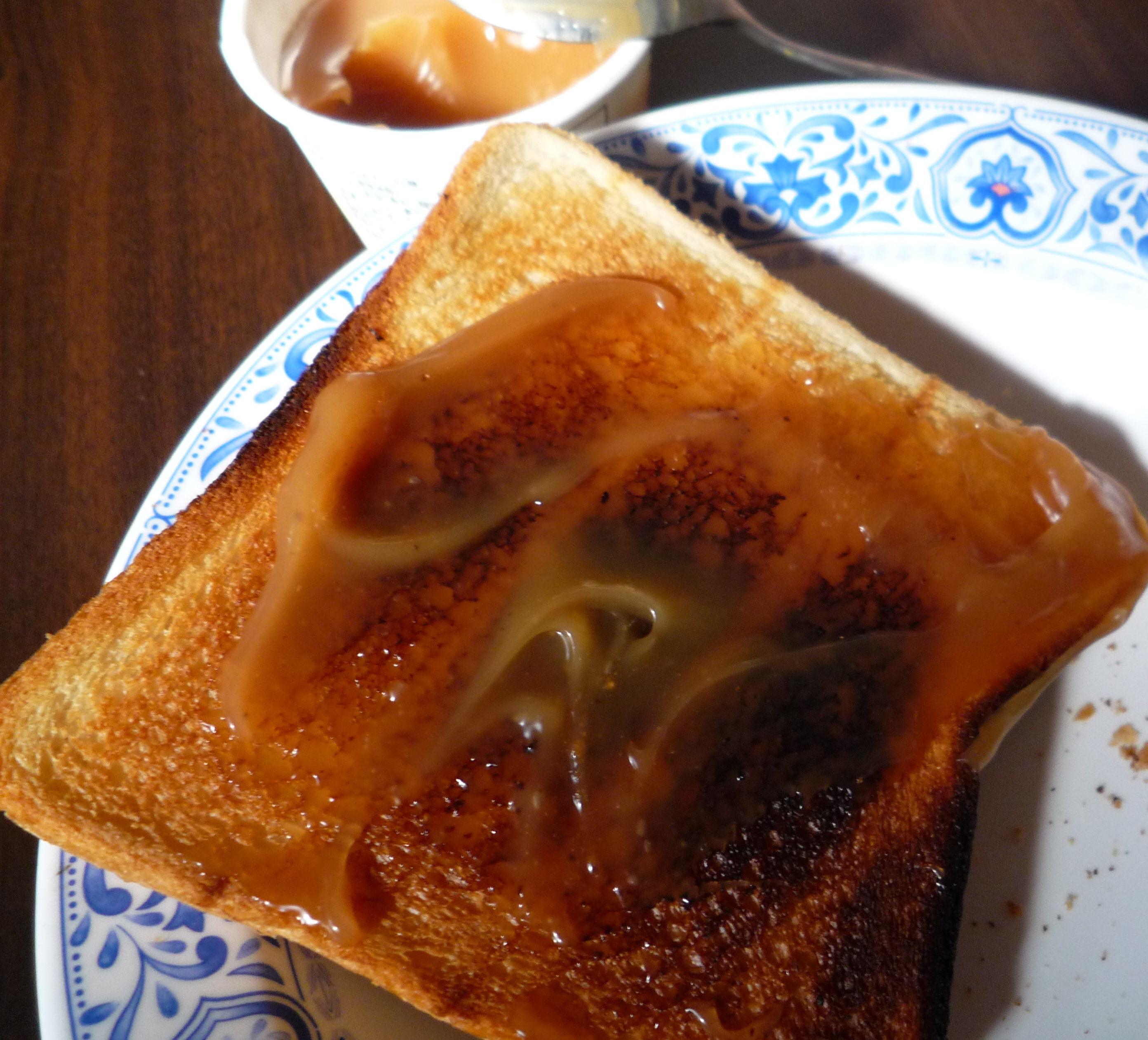 ソントン ピーナッツクリーム 食パン