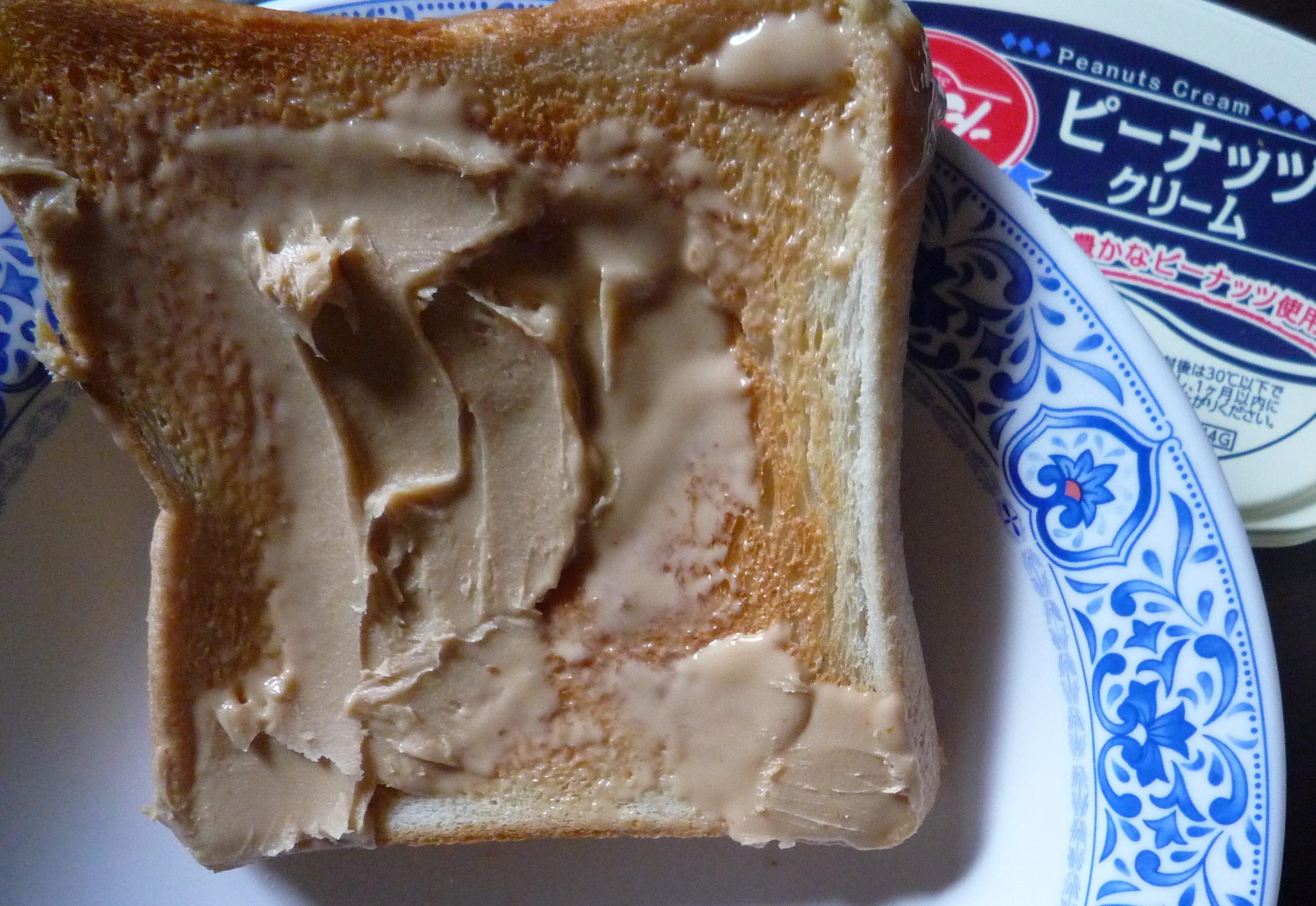 デキシー ピーナッツクリーム 食パン