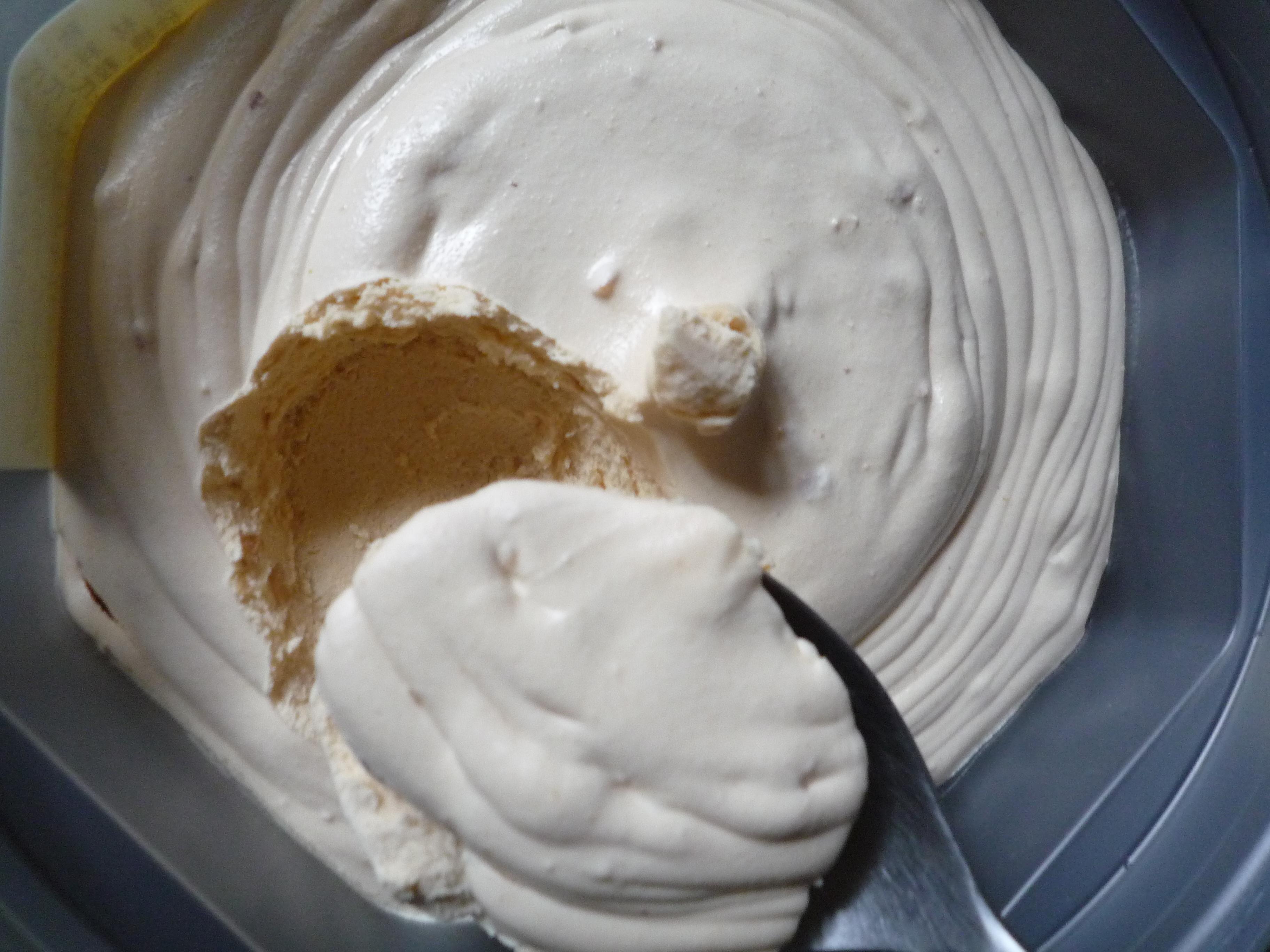 ダイショウ ピーナッツバター クリーミー つぶ入り 開封
