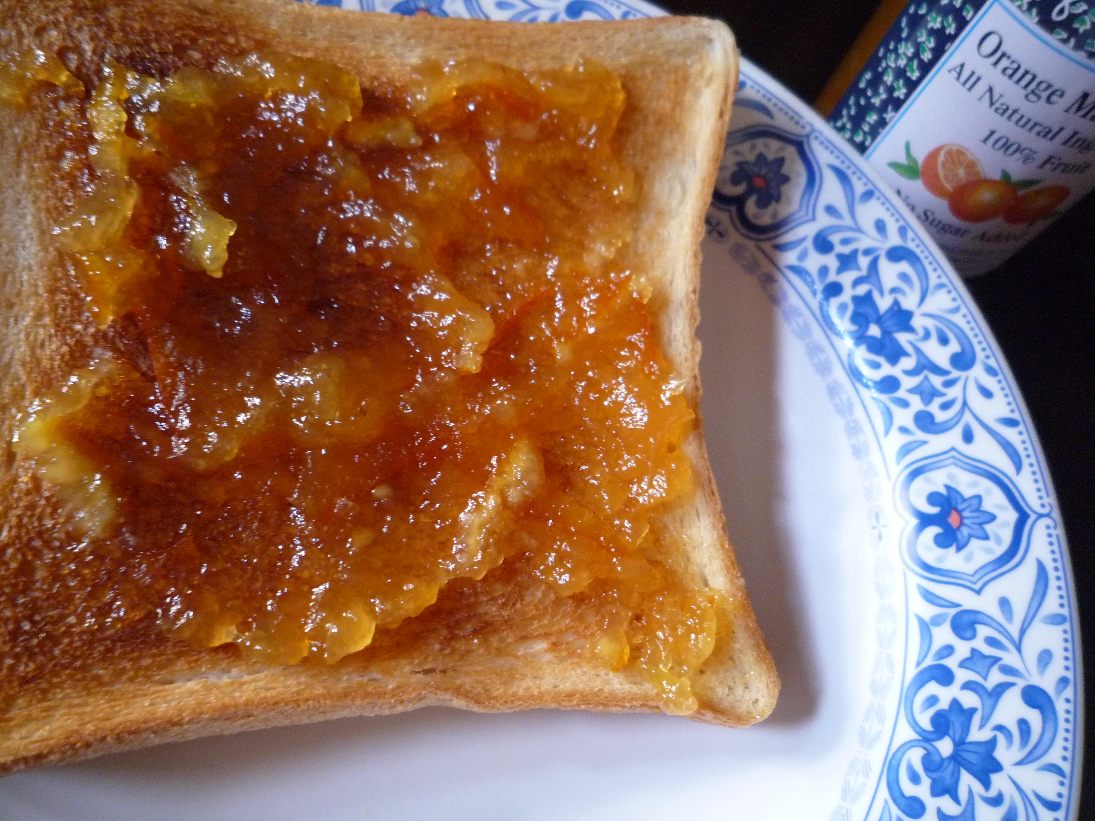 サン・ダルフォー オレンジマーマレード パン