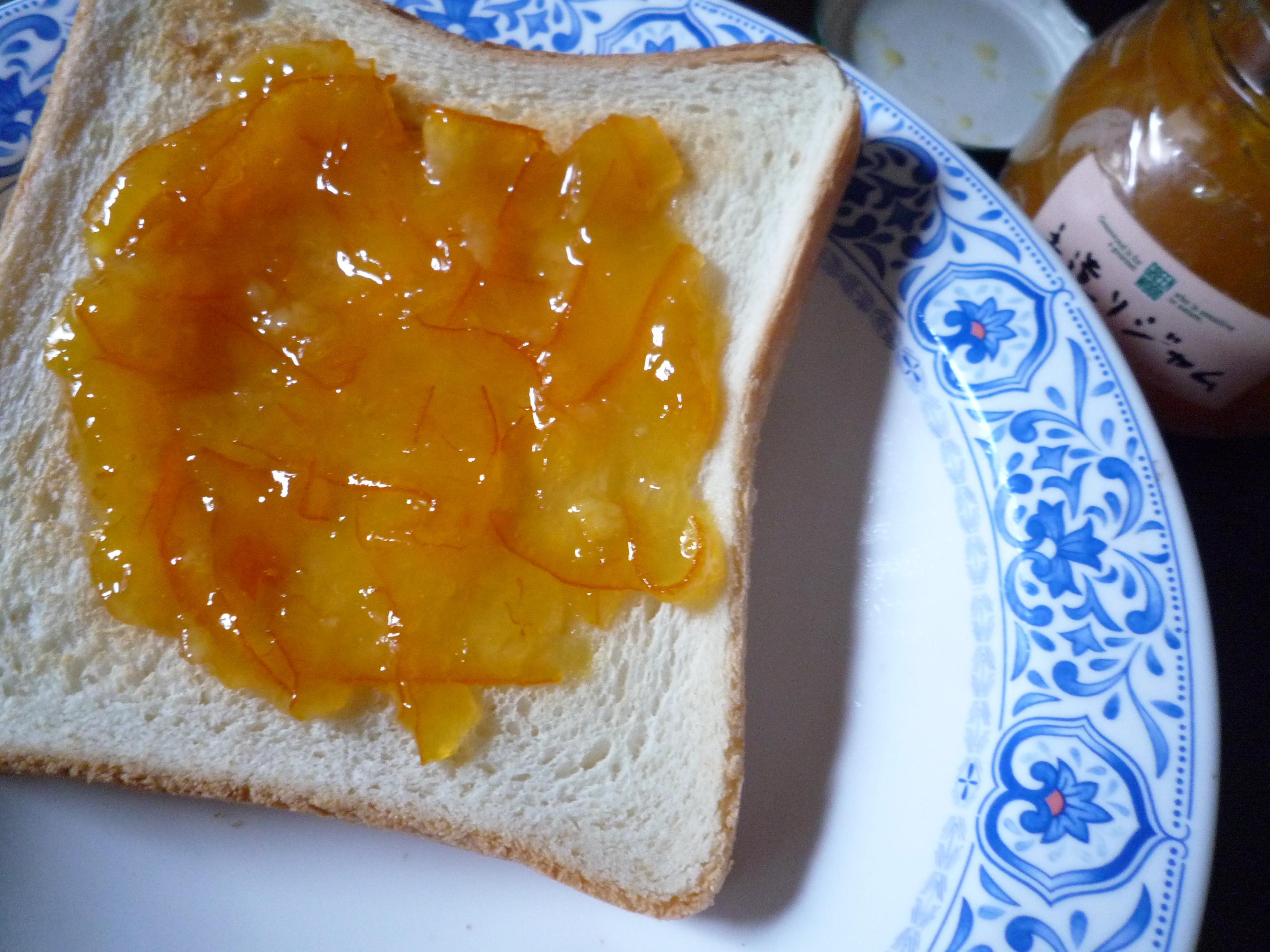 グリーンウッド 手造りジャム オレンジマーマレード パン