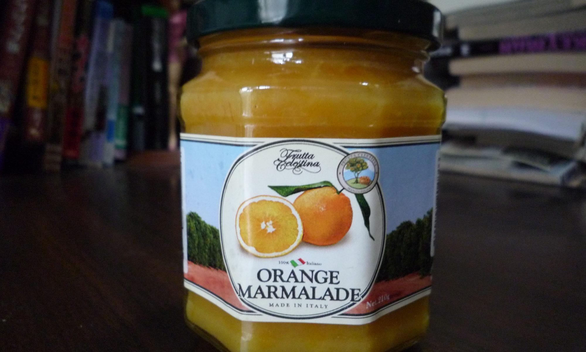 フルッタ・チェレスティーナ オレンジマーマレード