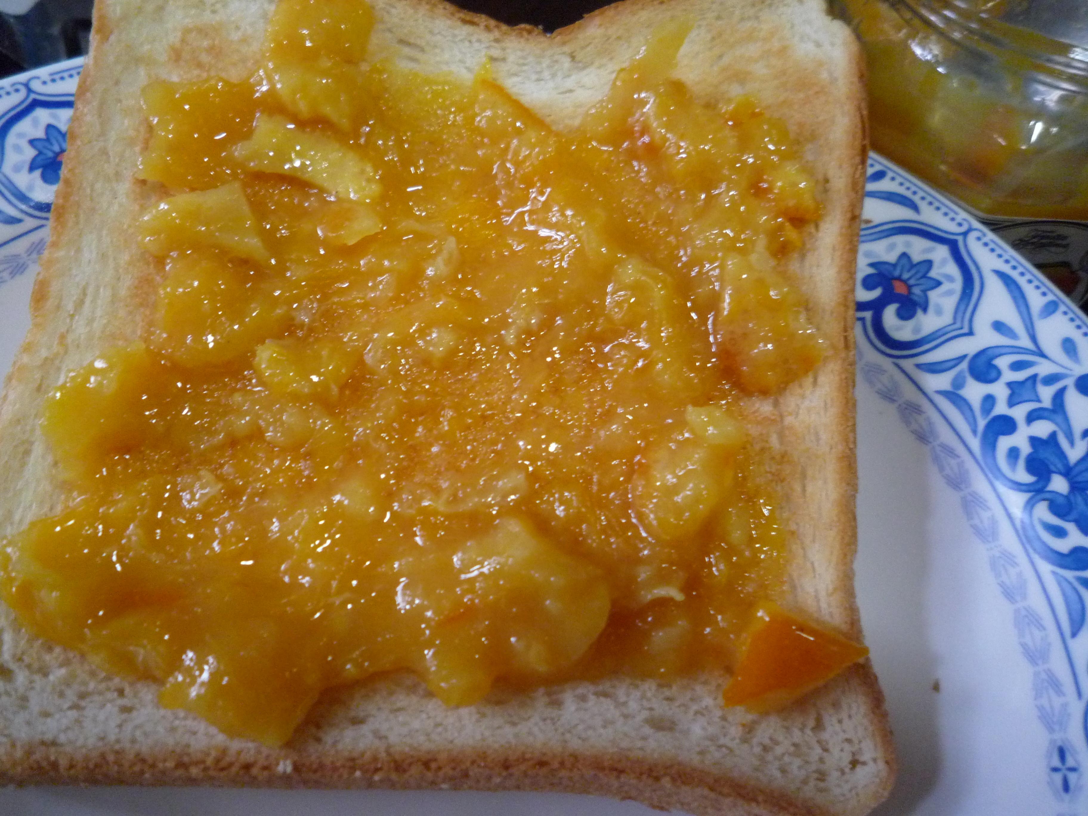 フルッタ・チェレスティーナ オレンジマーマレード パン