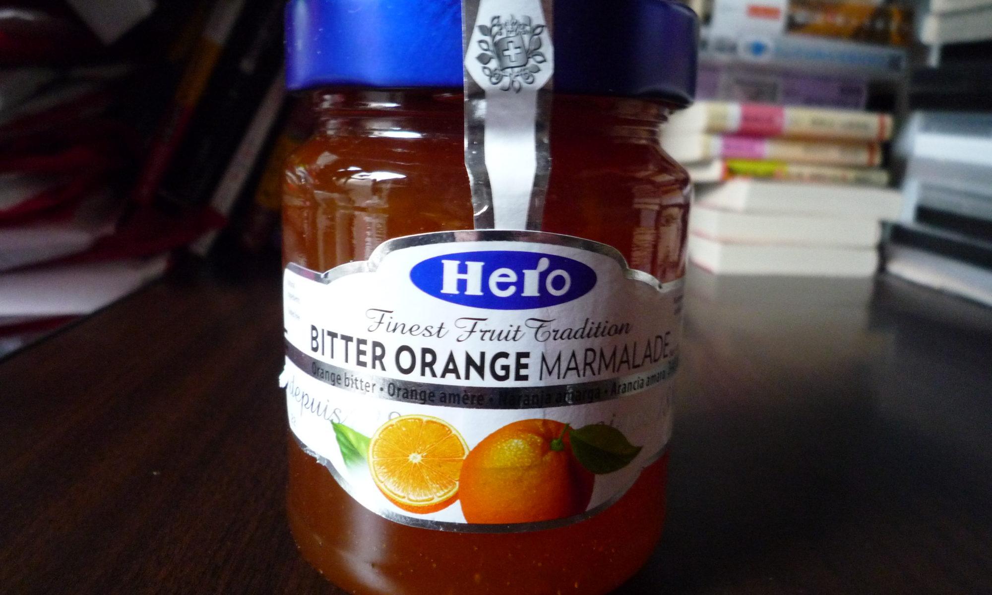 ヒーロー オレンジマーマレードビター