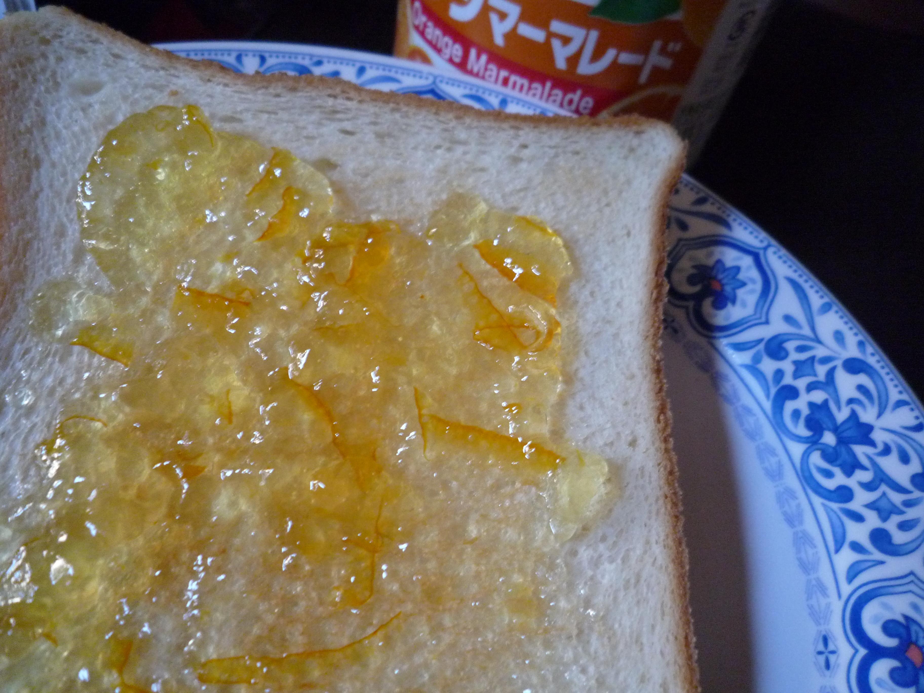 カンピー オレンジマーマレード パン