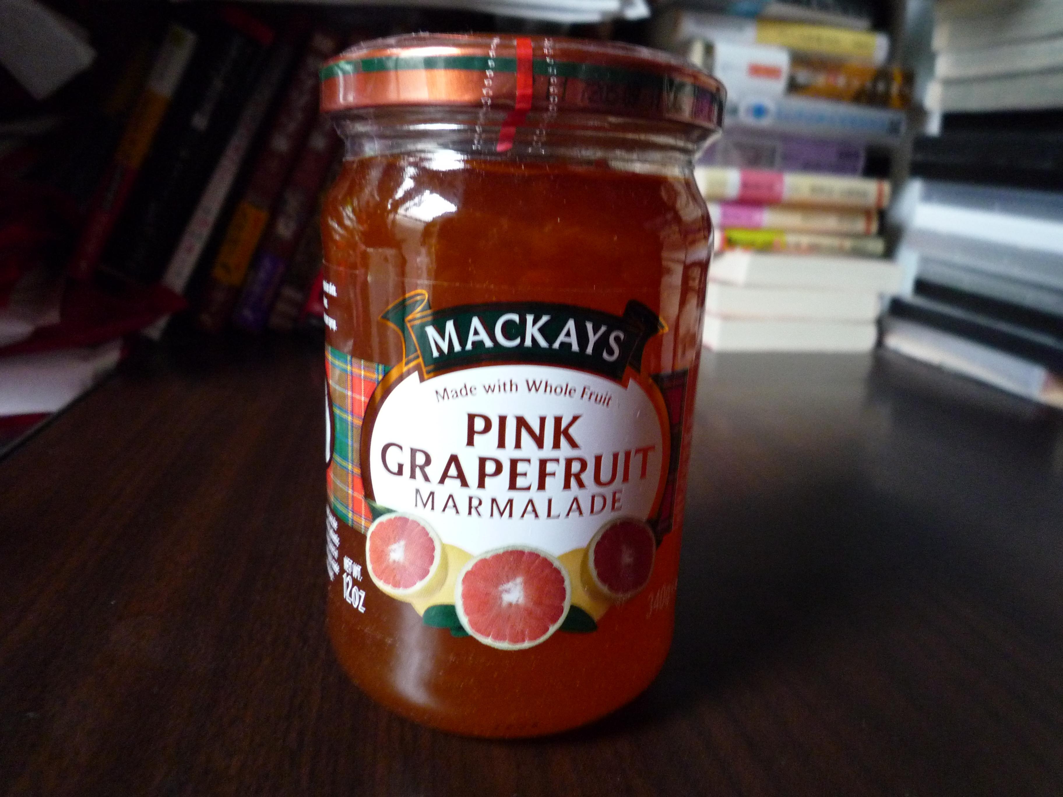 マッカイ ピンクグレープフルーツママレード