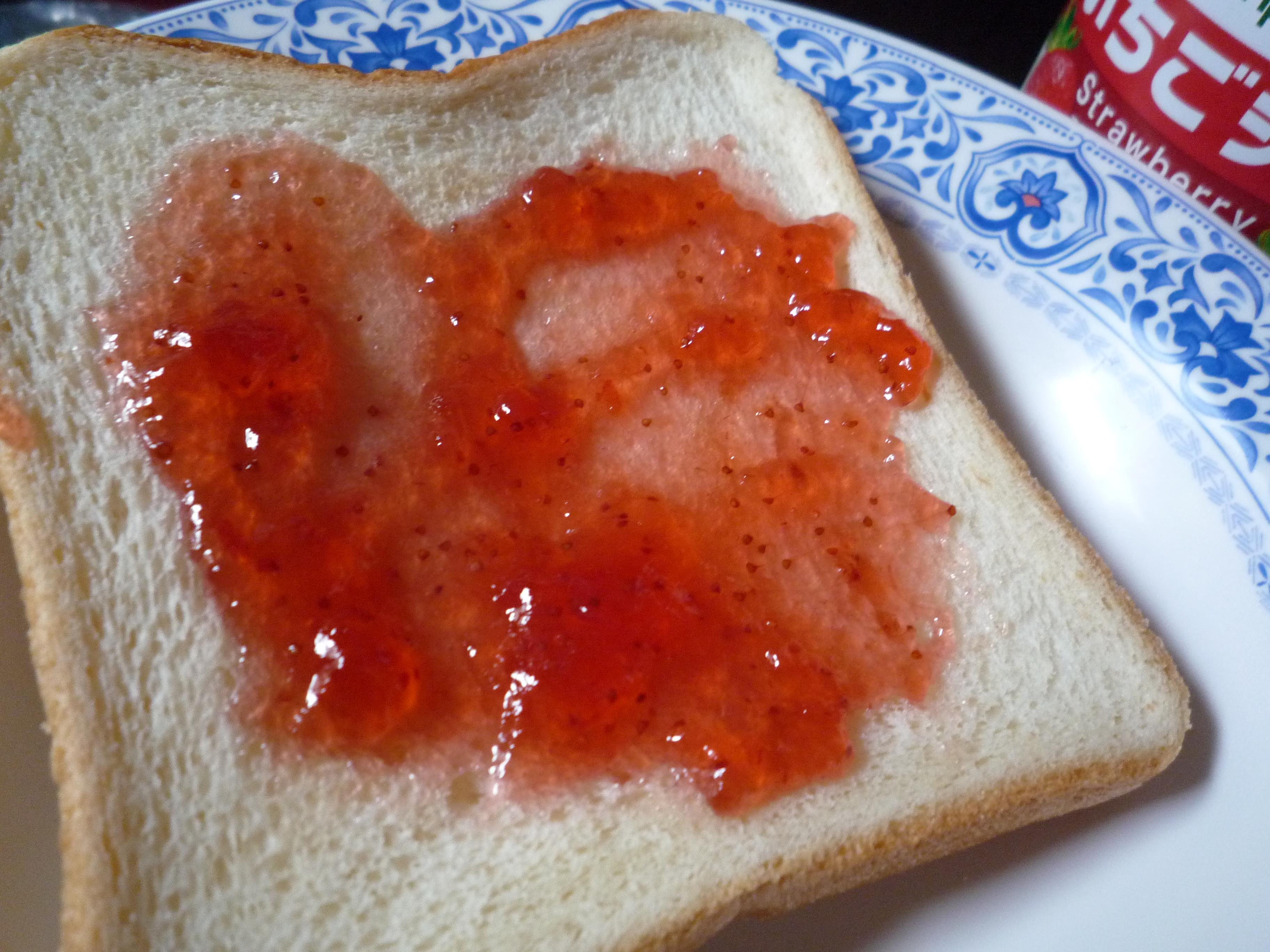 カンピー いちごジャム パン